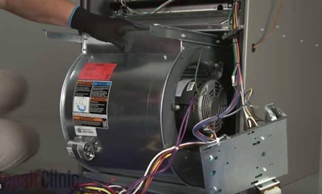 quietest furnace blower