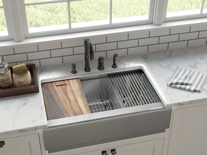 best gauge stainless steel sink