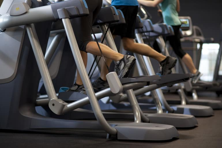 best cardio machine for bad knees