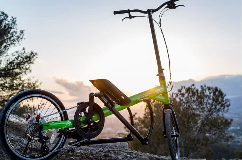 standing elliptical bike