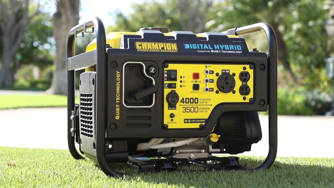 quietest 4000 watt inverter generator