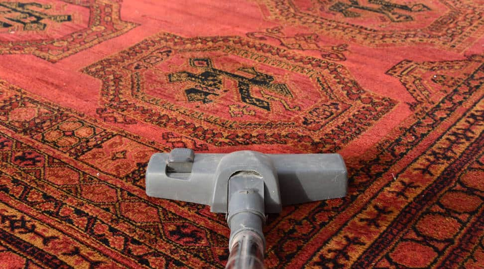 How to properly vacuum every type of rug