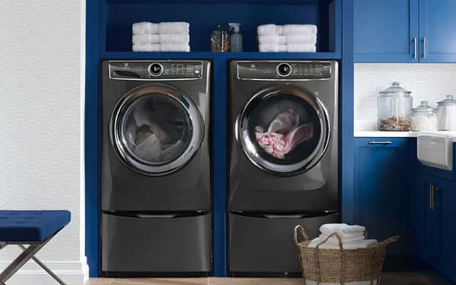 quietest front load washer
