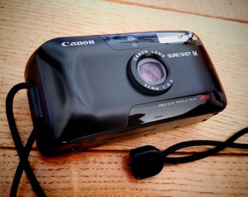 Canon Sure Shot Film Cameras