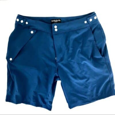 shorts with waterproof pockets