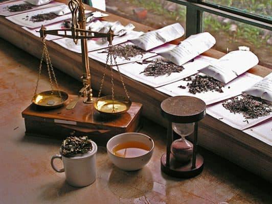 tea scales