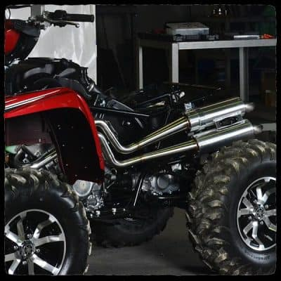 exhaust grizzly 700